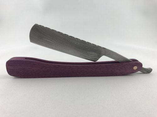 purple heart cutthroat razor