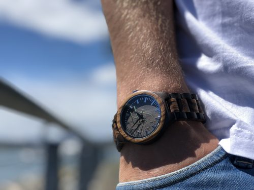 forever fresh watch in Curtis Moody pocket