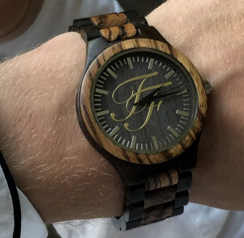 forever fresh watch on curtis moody wrist